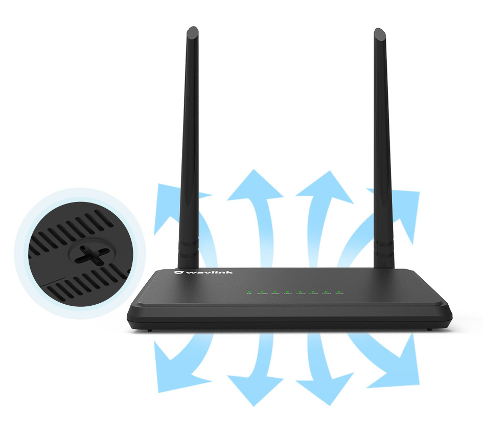 WL-WN529K2 - N300 Smart WiFi Omnidirectional Router